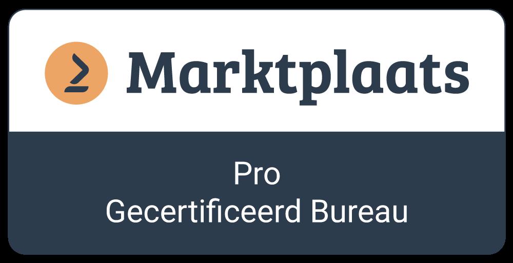 Marktplaats Pro Gecertificeerd Bureau